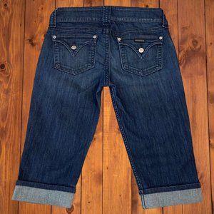 Hudson Jeans Malibu Cuffed Capri Denim Jeans